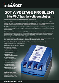 Switchmode Voltage Stabilisers | Download Brochure