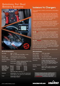 In-Vehicle DC-DC Battery Charger | Download New Solutions Brochure